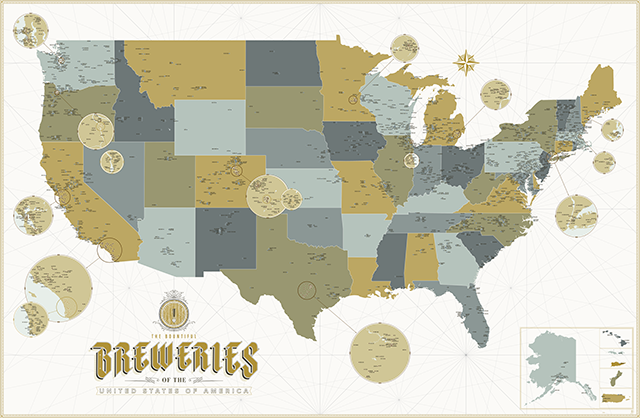 The Bountiful Breweries of the United States of America