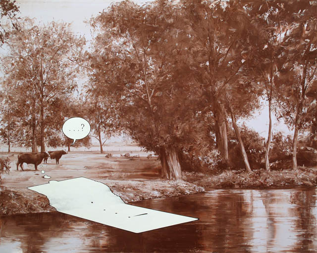 Surreal paintings by Paco Pomet