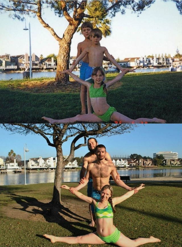 Siblings Photo Recreation