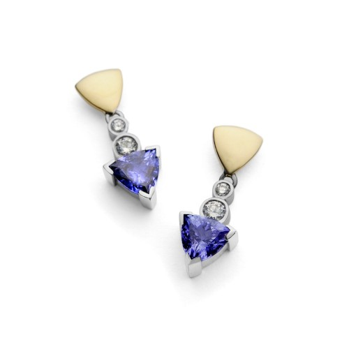 Tanzanite Treasure Earrings