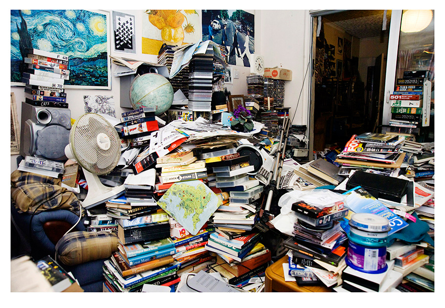 The Art of Keeping, A Photo Series About Compulsive Hoarding by Paula Salischiker