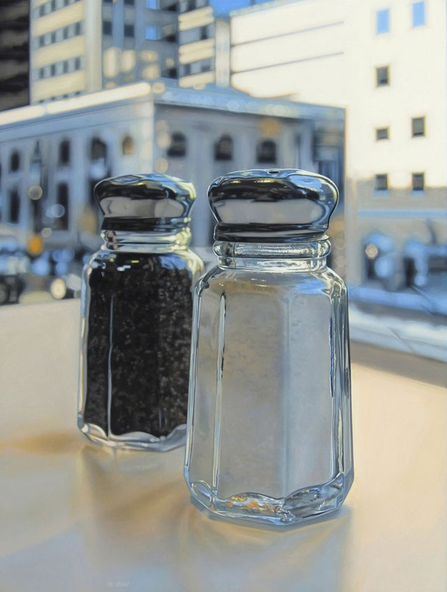 Photorealistic paintings by Jason de Graaf