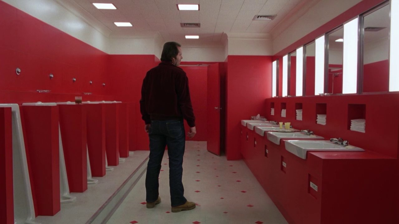 A Scene From Stanley Kubrick S The Shining Without
