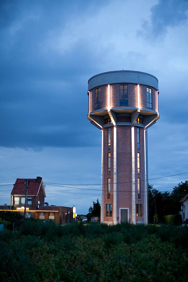 Belgian Water Tower Home