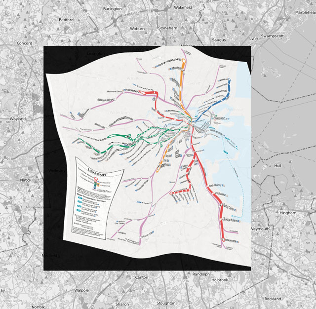Geographically Corrected Transmit Maps