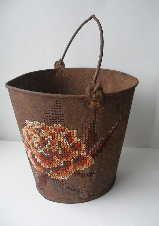 Embroidered Bucket