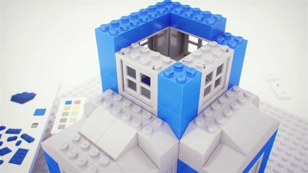 Build, A Chrome Experiment for Virtually Building with LEGO Bricks