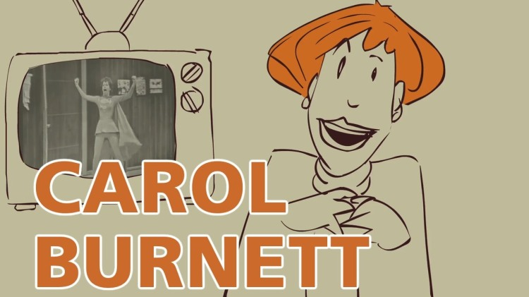 Carol Burnett Reminisces About Her Childhood in a 2003 Interview Animated By PBS
