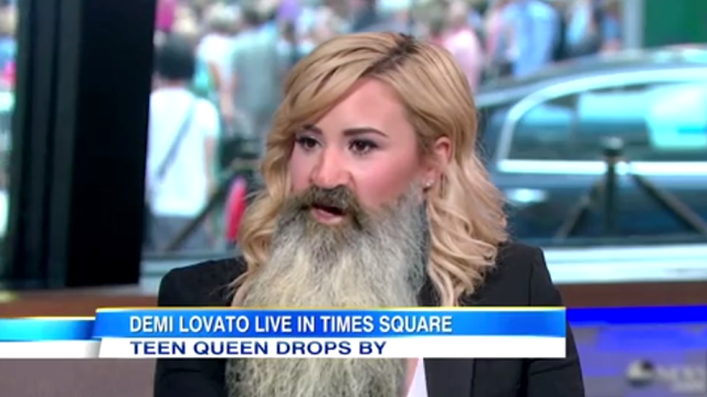 If They Melded: Demi Lovato + Phil Robertson Edition