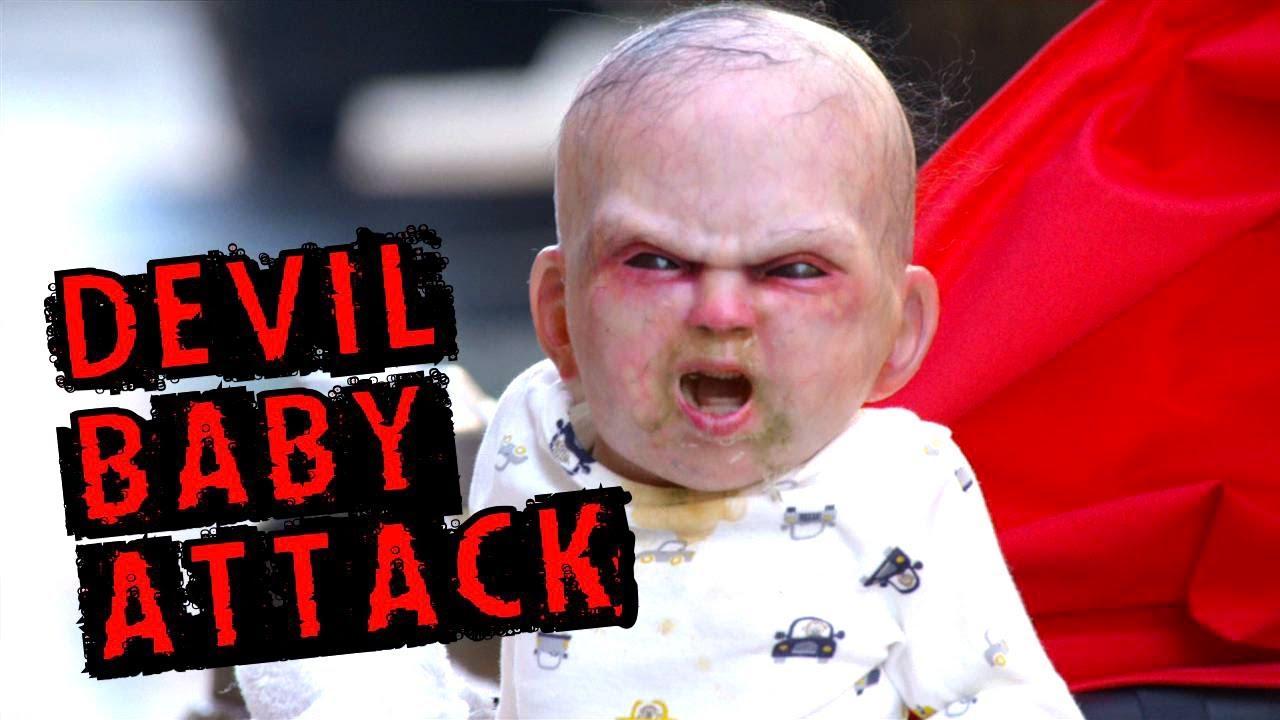 Devil Baby Terrifies Pedestrians in New York City