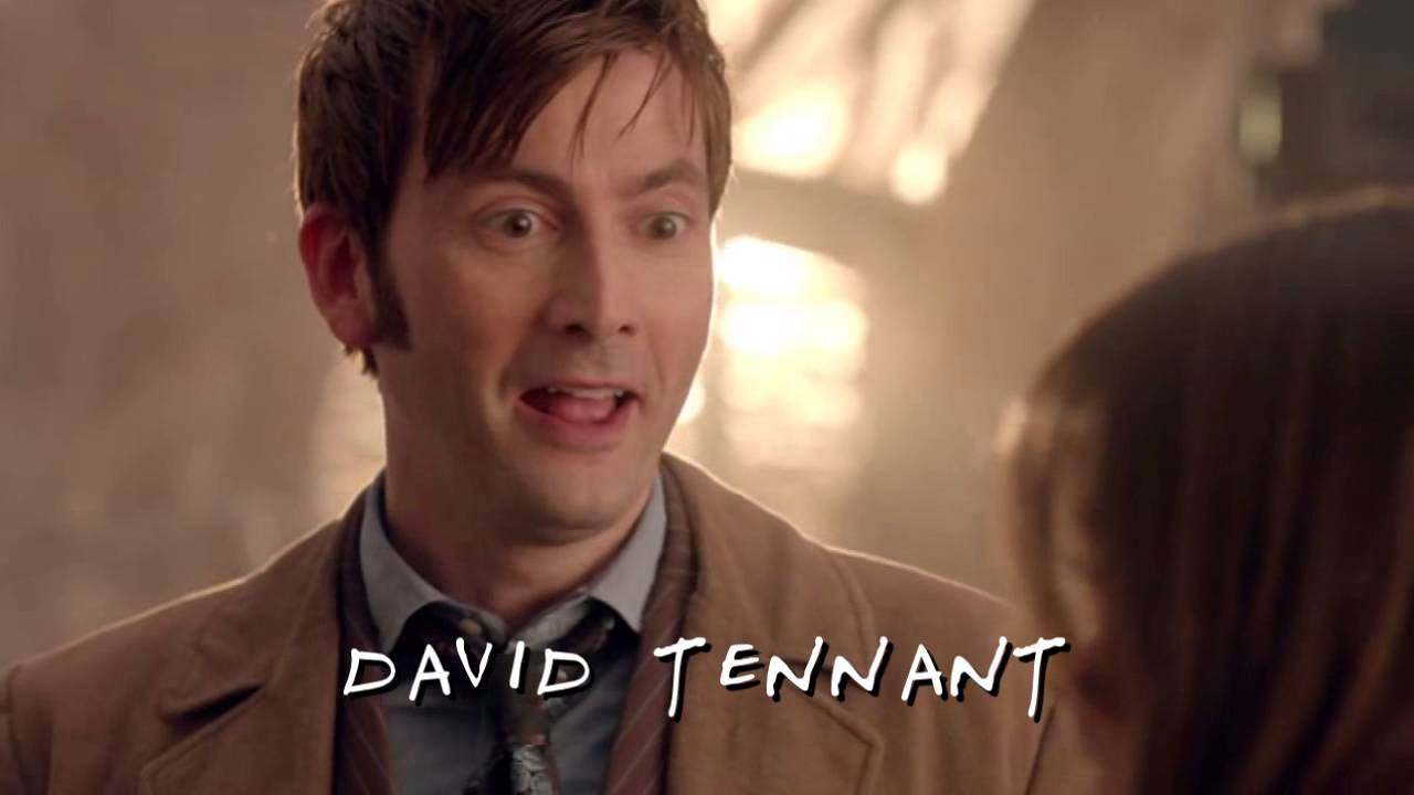 Doctor Who 50th Anniversary Special Credits Recreated in the Style of 'Friends'