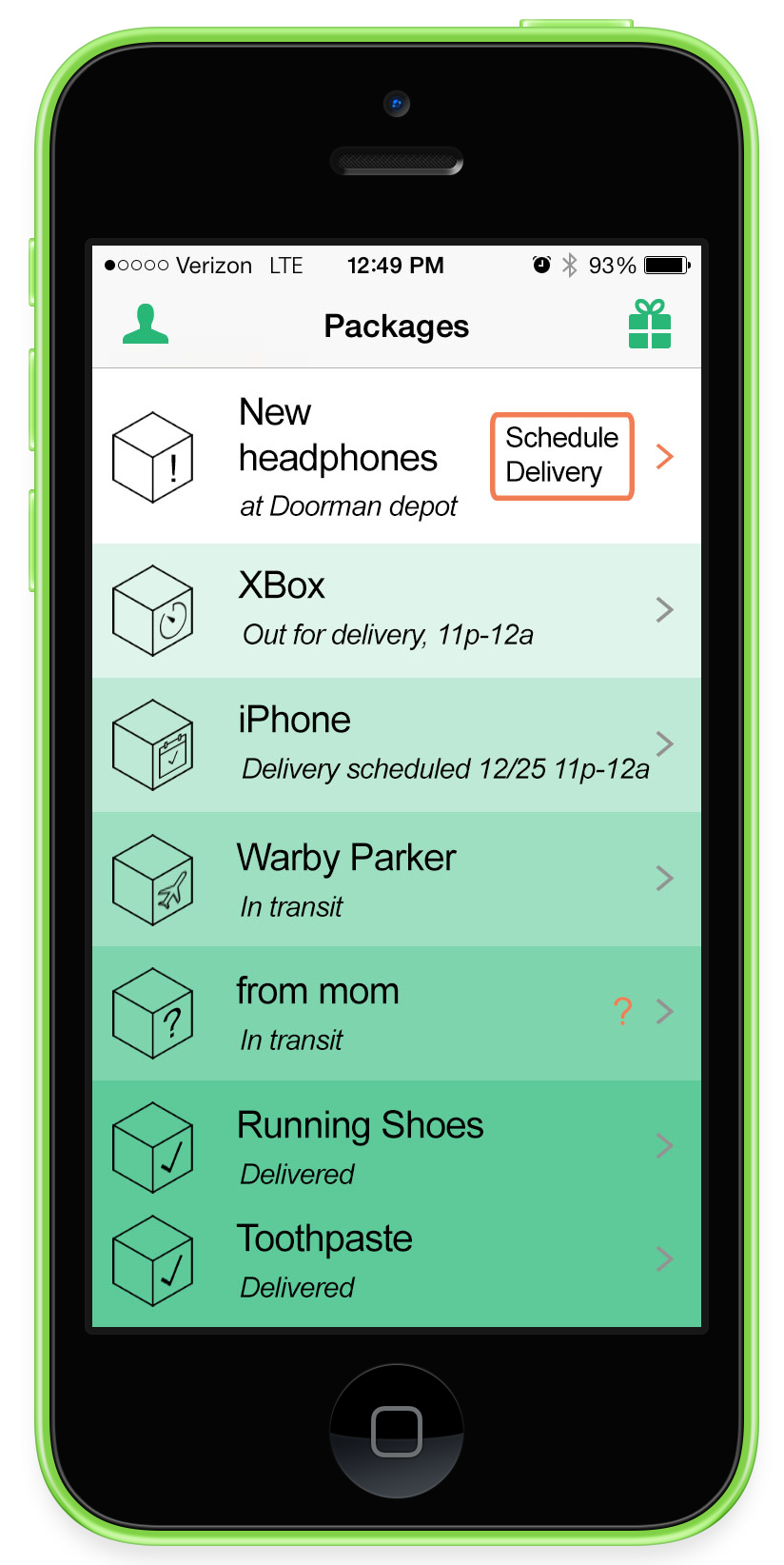 Doorman, A Service That Collects Packages of All Kinds and Delivers Them To You on Demand