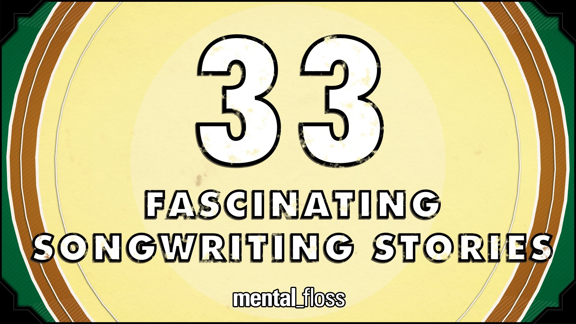 Fascinating Songwriting Stories