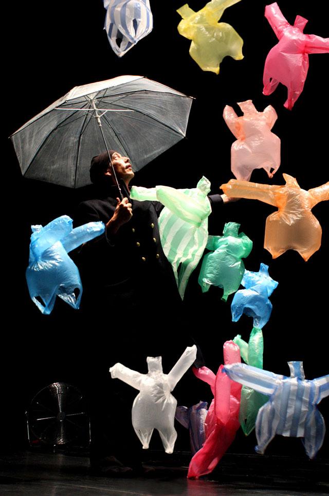Dancing Plastic Bags