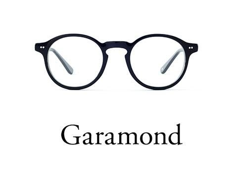 Typeface Eyeglasses