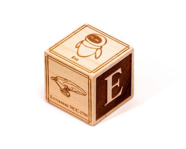 Geeky Alphabet E