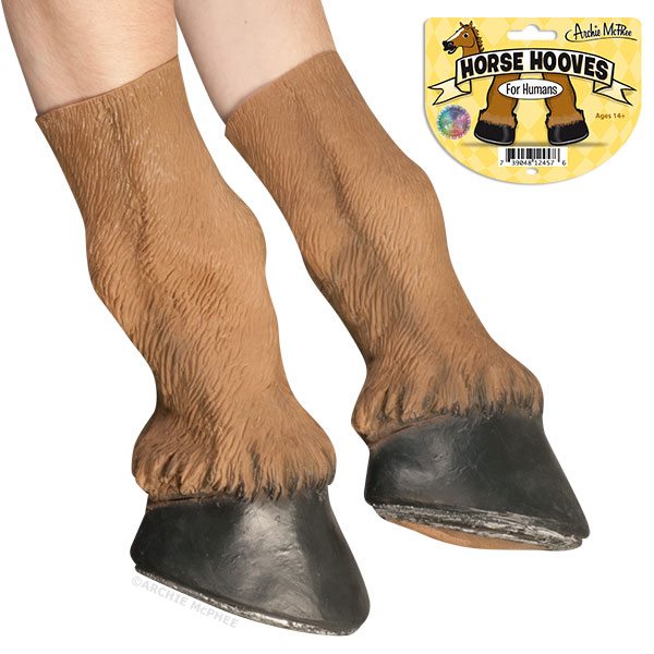 Horse Hooves by Archie McPhee