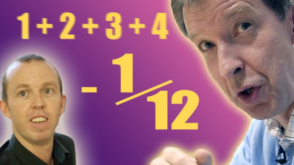 How All the Natural Numbers from One to Infinity Added Together Equal -1/12
