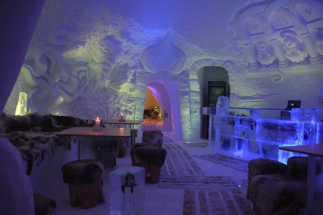IgluLodge Ice Hotel in the German Alps