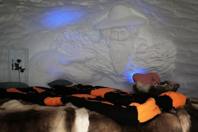 IgluLodge Ice Hotel in the German Alps