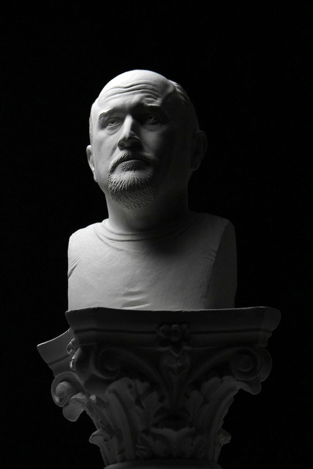 Bust of Louis CK