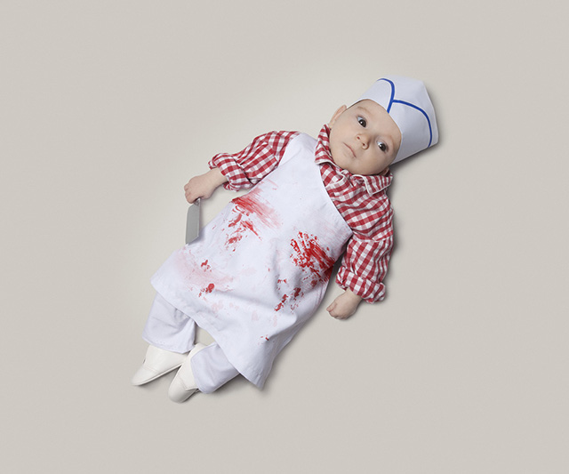 Baby Occupations - Butcher