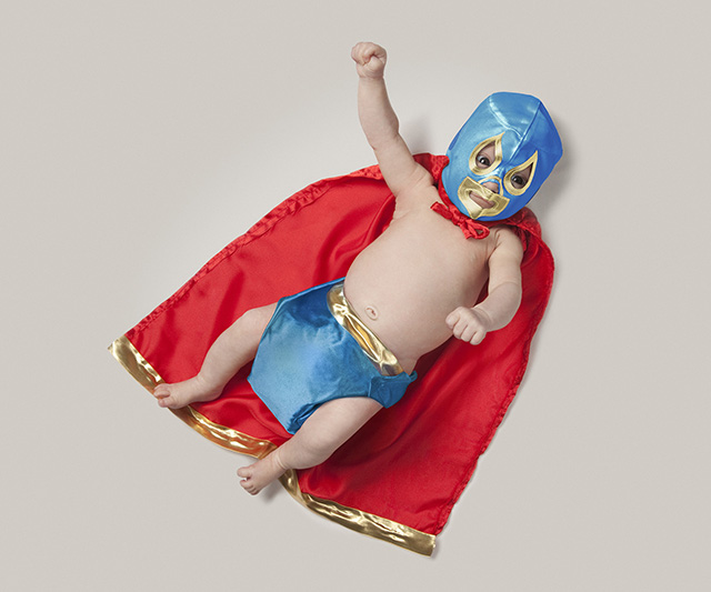Baby Occupations - Luchador