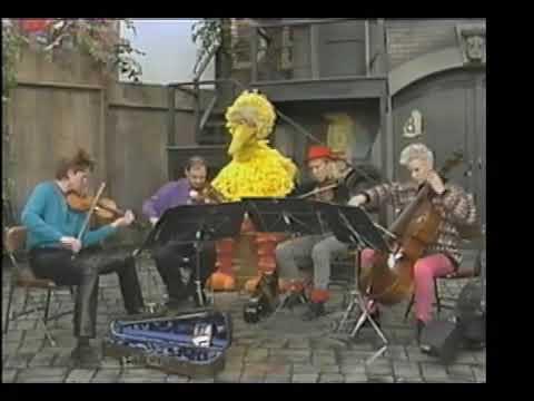 Kronos Quartet Visits Sesame Street in 1987