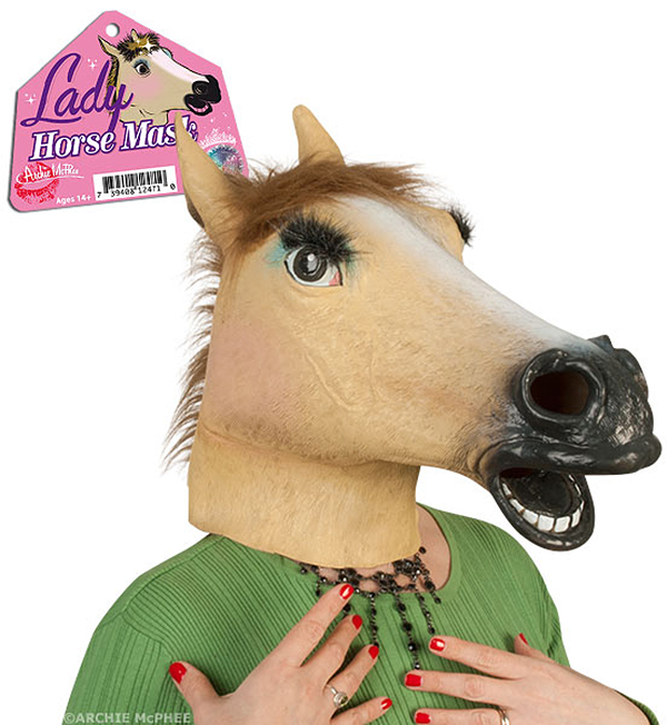 Lady Horse Mask by Archie McPhee
