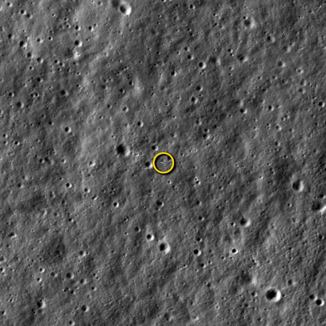 LROC Image of LADEE