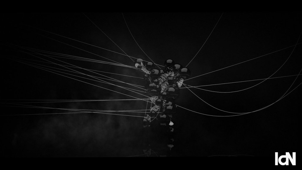 NOISE, A Short Film That Explores White and Black Noise Through Motion Capture