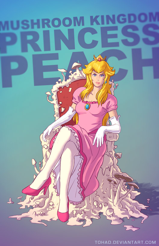 Princess Peach BADASS