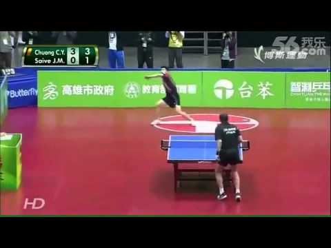 Professional Table Tennis Match in Taiwan Involves a Surprising Number of Shenanigans