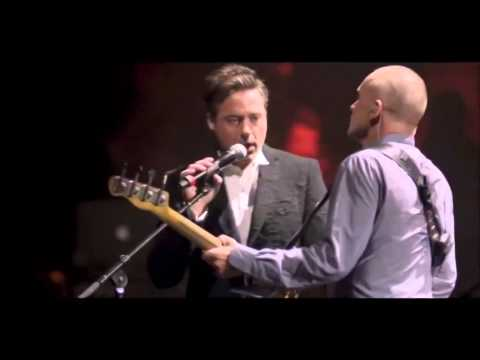 Robert Downey Jr. Sings 'Driven to Tears' With Sting at Sting's 60th Birthday Celebration