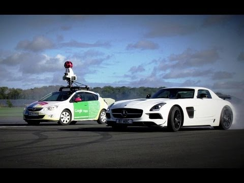 The Top Gear Test Track Is Now on Google Street View