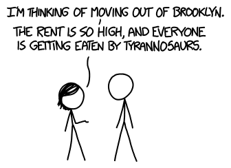 xkcd on T-Rex Metabolism