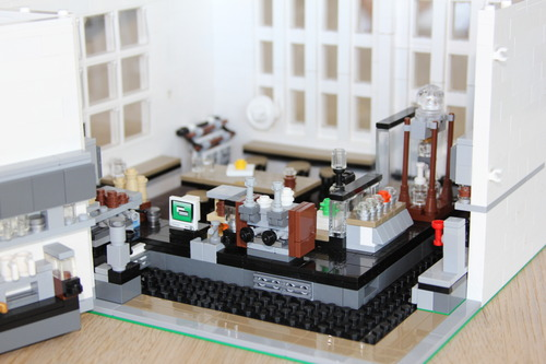 Barista Builds LEGO Model of a San Francisco Blue Bottle Café