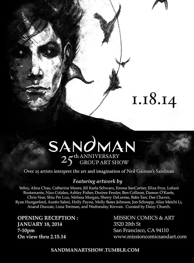 Sandman Art Show