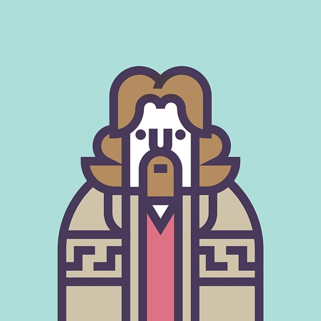 Jeffrey The Dude Lebowski of The Big Lebowski
