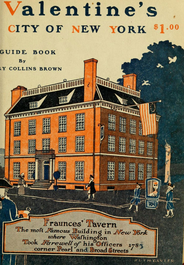 Valentine's City of New York Guide Book from 1920