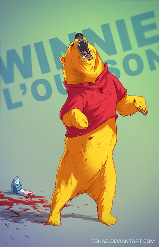 Winnie the Pooh BADASS