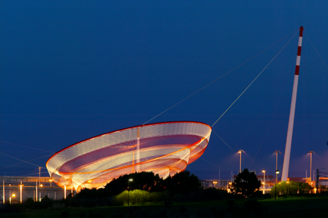 Monumental Net Sculptures by Janet Echelman