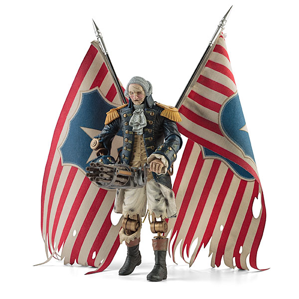 Bioshock Infinite George Washington Patriot