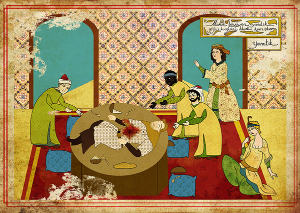 Ancient Ottoman Movie Posters