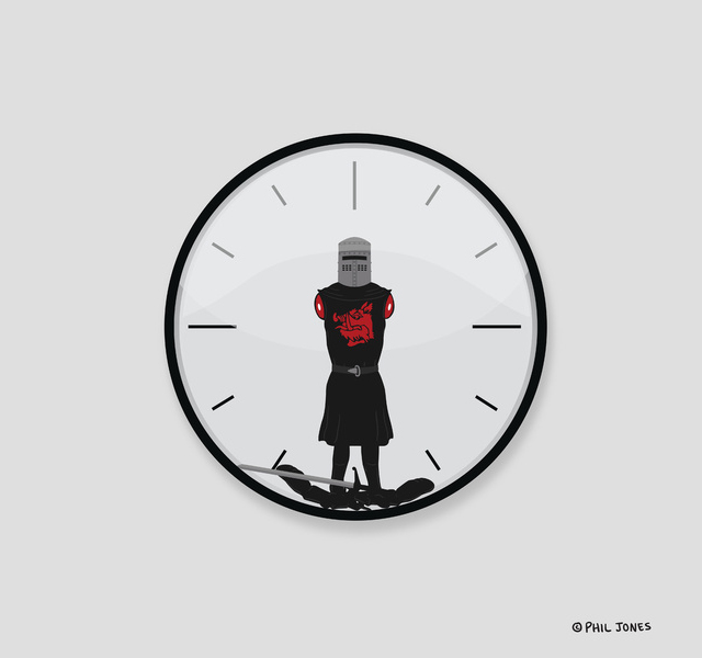 The Most Worthless Clock by Phil Jones
