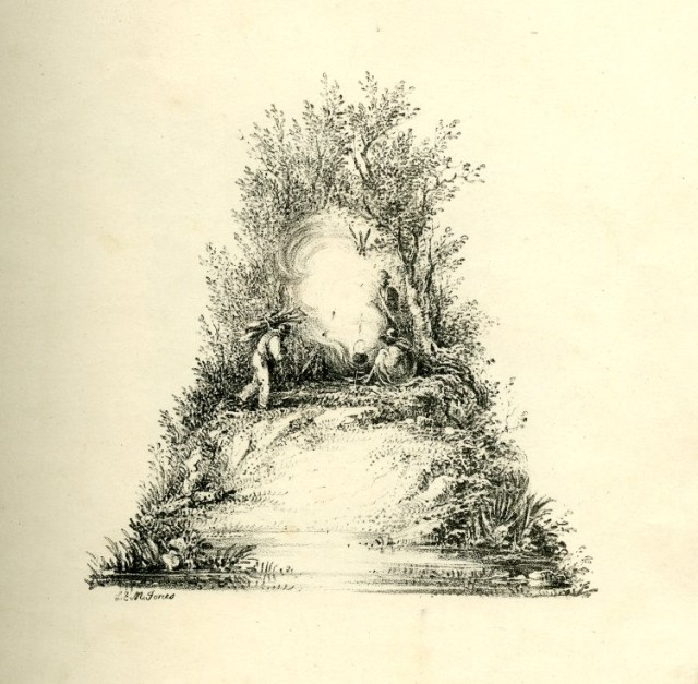 The Landscape Alphabet, 19th Century Lithographs Featuring Letters Created From Idyllic Scenery