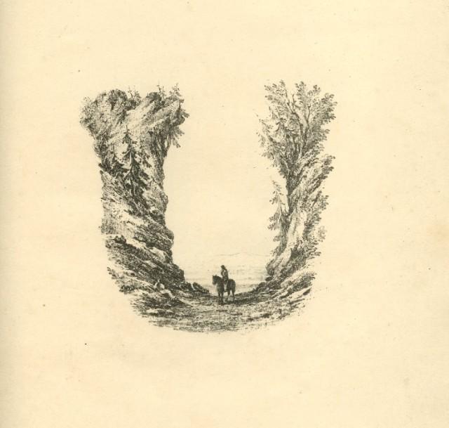 The Landscape Alphabet, Letter U