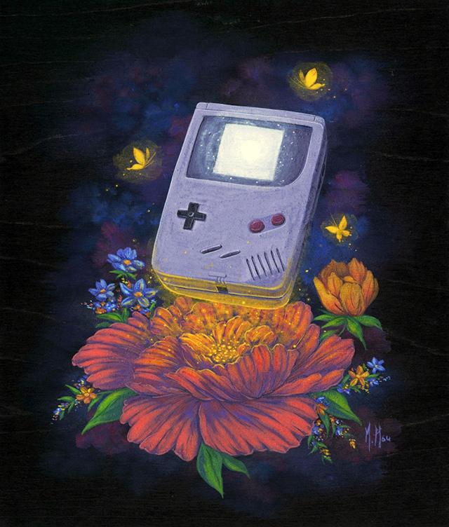 Ascension of Game Boy by Martin Hsu