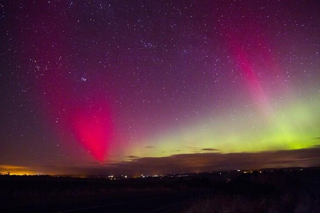 Aurora by Mark Savage Northumberland, UK