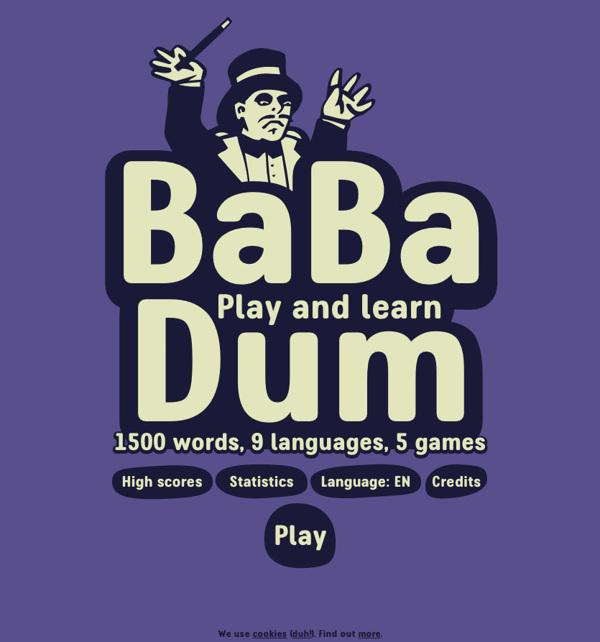 Ba Ba Dum English